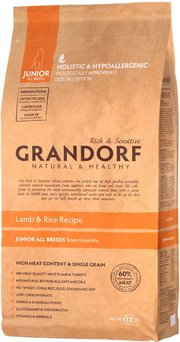 Grandorf Junior All Breed Lamb/Rice фото