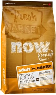 NOW Fresh Adult Dog Grain Free Food Recipe фото